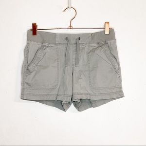 NATURAL REFLECTIONS| Gray Drawstring Outdoor Short